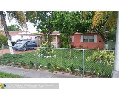 North Miami Beach Single Family Home For Sale: 981 NE 159th St