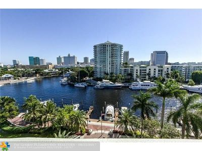 Fort Lauderdale Condo/Townhouse For Sale: 610 W Las Olas Blvd #1313N