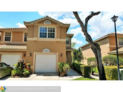 Coral Springs Condo/Townhouse For Sale: 10160 Royal Palm Blvd #506-5
