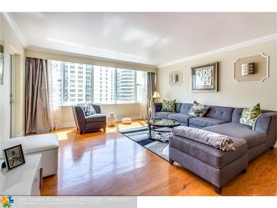 Miami Beach Condo/Townhouse For Sale: 5600 E Collins Av #9-T