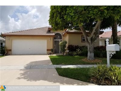Boca Raton Single Family Home For Sale: 11209 Harbour Springs Circle