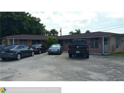 Margate Multi Family Home For Sale: 6008 NW 10th St
