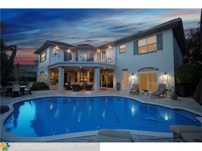 Lighthouse Point Single Family Home For Sale: 2530 NE 33rd St
