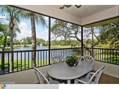Plantation Condo/Townhouse For Sale: 7380 NW 1st St #206