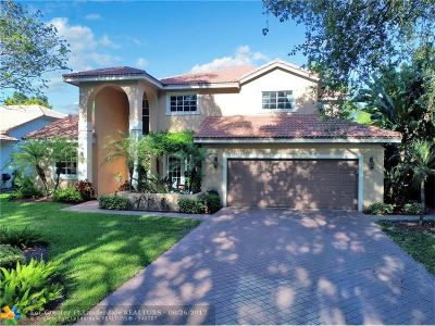 Coral Springs Single Family Home Backup Contract-Call LA: 5747 NW 46th Dr