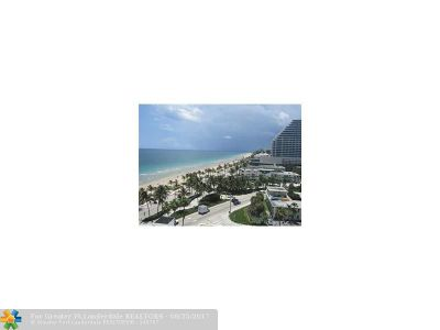 Fort Lauderdale Condo/Townhouse For Sale: 209 N Fort Lauderdale Beach Blvd #10C