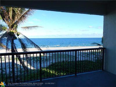 Pompano Beach Condo/Townhouse For Sale: 520 N Ocean Blvd #17