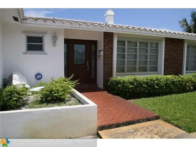 Oakland Park Single Family Home For Sale: 2900 NW 24 Ave