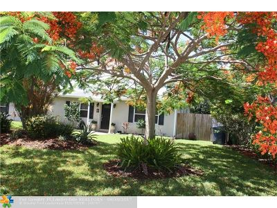 Wilton Manors Single Family Home For Sale: 515 NE 26th Drive