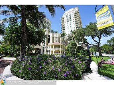 Fort Lauderdale Condo/Townhouse For Sale: 610 W Las Olas Blvd #1114N