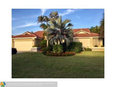 Coral Springs Single Family Home Sold: 4603 NW 59th Way