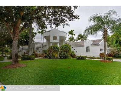 Coral Springs Single Family Home For Sale: 12064 NW 9th Pl
