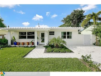 Fort Lauderdale Single Family Home For Sale: 1008 NE 17th Ct