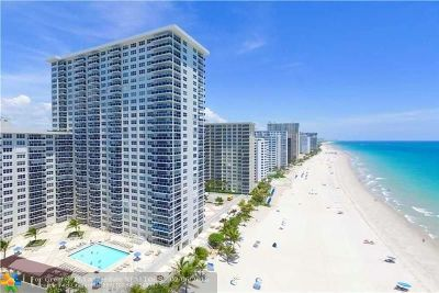 Broward County Condo/Townhouse For Sale: 3500 Galt Ocean Dr #1605