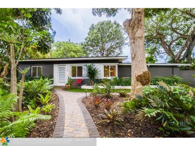 Wilton Manors Single Family Home For Sale: 700 NE 21st Dr