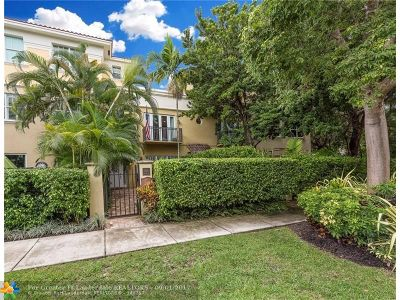 Fort Lauderdale Condo/Townhouse For Sale: 1420 NE 4th Ct #1420