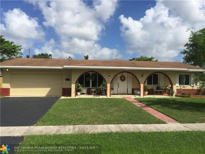Plantation Single Family Home For Sale: 1080 NW 74th Ter