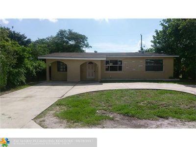 Delray Beach Single Family Home Backup Contract-Call LA: 825 SW 10th Av