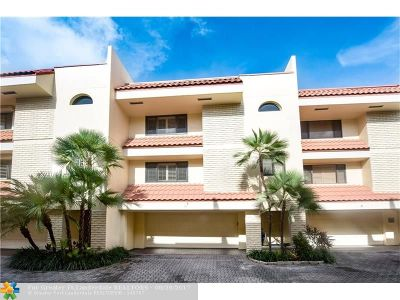 Fort Lauderdale Condo/Townhouse For Sale: 1401 NE 9 St #19