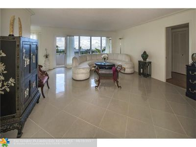 Broward County Condo/Townhouse For Sale: 5100 N Ocean Blvd #412