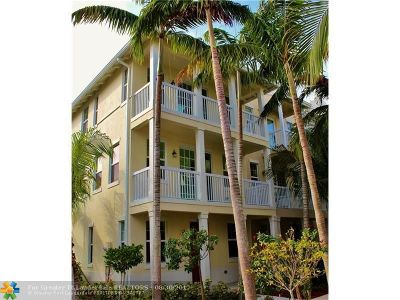 Delray Beach Condo/Townhouse For Sale: 101 SW SW 2nd Ave #D