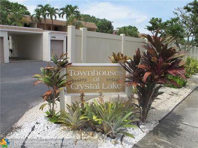 Pompano Beach Condo/Townhouse For Sale: 4759 NW 9th Ave #4759