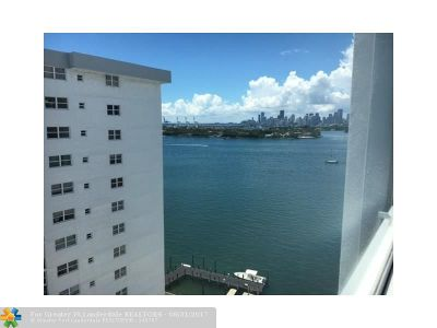 Miami Beach Condo/Townhouse For Sale: 1250 West Ave #14H