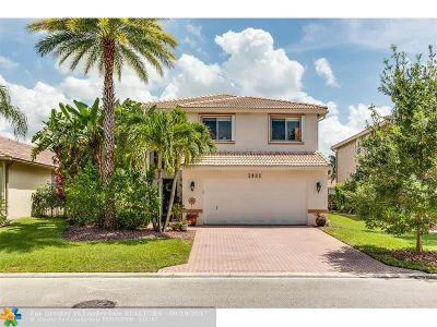 Coral Springs Single Family Home For Sale: 5081 NW 121st Dr