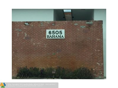 Margate Condo/Townhouse For Sale: 6505 Winfield Blvd #B-11