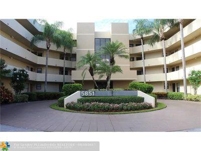 Boca Raton Condo/Townhouse For Sale: 5851 Camino Del Sol #406