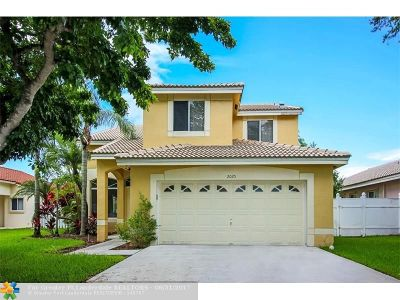 Pembroke Pines Single Family Home For Sale: 2025 NW 179th Ave