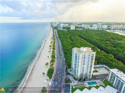 Broward County Condo/Townhouse For Sale: 1151 N Fort Lauderdale Beach Boulevard #12B