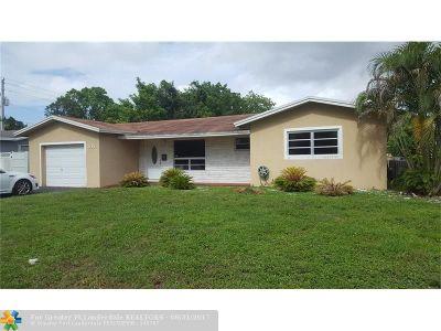 Plantation Single Family Home Backup Contract-Call LA: 308 NW 43 Avenue