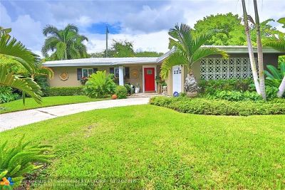 Fort Lauderdale Single Family Home For Sale: 5951 NE 22nd Ter