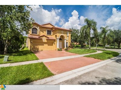 Pembroke Pines Single Family Home For Sale: 1070 NW 184th Ter