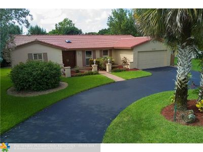 Coral Springs Single Family Home Backup Contract-Call LA: 9962 NW 16th St