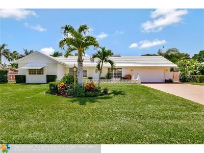 Lighthouse Point Single Family Home Backup Contract-Call LA: 4141 NE 22nd Ter