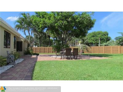Coconut Creek Single Family Home For Sale: 3331 NW 22nd Pl
