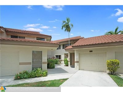 Plantation Condo/Townhouse For Sale: 9251 NW 9th Pl #9251