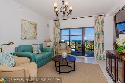 Fort Lauderdale Condo/Townhouse For Sale: 2409 N Ocean Blvd #625