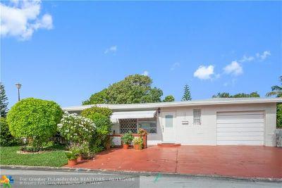 Margate Single Family Home For Sale: 1375 NW 69th Av