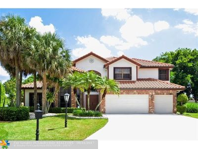 Coral Springs Single Family Home Backup Contract-Call LA: 4857 Chardonnay Dr