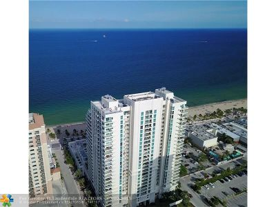 Broward County Condo/Townhouse For Sale: 101 S Fort Lauderdale Beach Blvd #1806