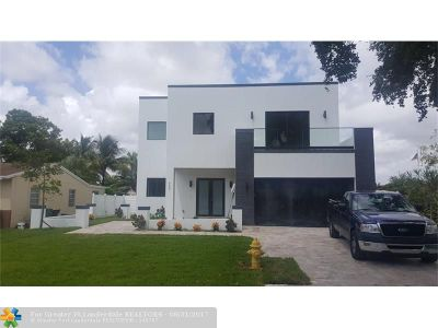 Fort Lauderdale Single Family Home For Sale: 4407 SW 25th Ter