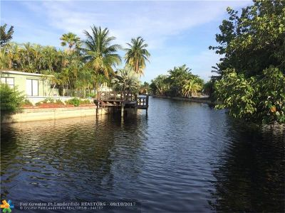 Oakland Park Single Family Home For Sale: 3658 NW 18th Ave