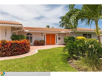 Fort Lauderdale Single Family Home For Sale: 2601 NE 35th Dr