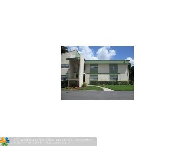 Coral Springs Condo/Townhouse For Sale: 4154 NW 90th Ave #105