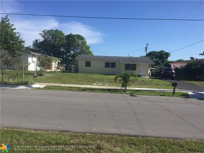 Delray Beach Single Family Home For Sale: 1308 NW 2nd St