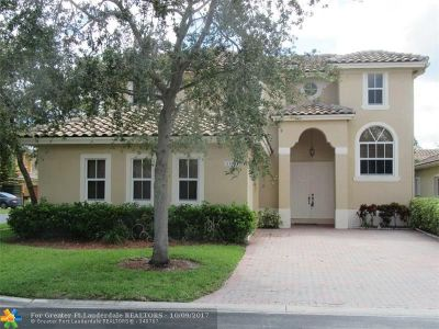 Coral Springs Single Family Home For Sale: 12102 NW 47th Mnr