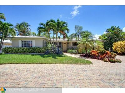 Lauderdale By The Sea Single Family Home For Sale: 226 Bombay Ave